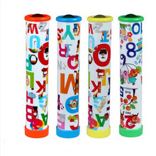 Rotating Kaleidoscopes Colorful World Preschool Toys Style at Random Best Kids Gifts Children Educational Science Toy