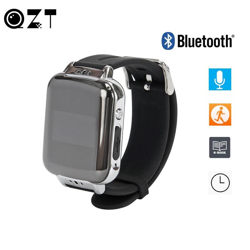 Enregistreur vocal Audio numérique professionnel Bracelet portable activé par la voix USB enregistrement sonore Bluetooth Sport podomètre Bracelet