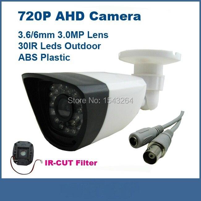 Mini 1.3 MP CMOS CCTV AHD AHD-M Camera 960P 2500TVL Security Surveillance indoor warterproof Camera with IRCut Filter1080P Lens