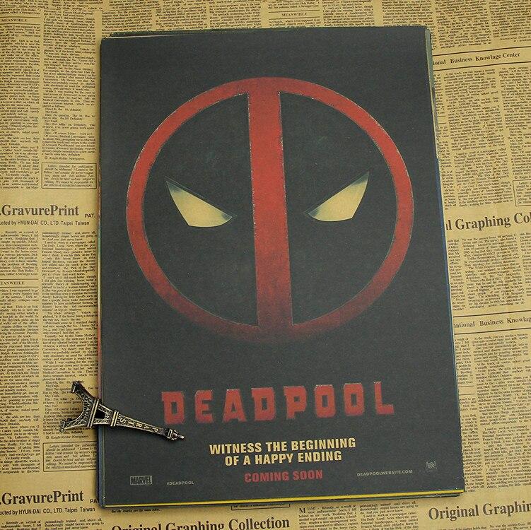 Deadpool Αφίσα / Marvel σούπερ ήρωα - Διακόσμηση σπιτιού - Φωτογραφία 2