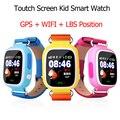 Posição gps 5x q90 touch screen wi-fi smart watch crianças sos chamar Localizador Rastreador Kid Safe Anti Perdido pk Q50 Q60 Q80