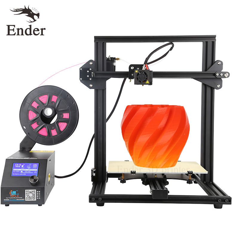 CR-10 Mini 3D printer DIY KIT Auto Resume Print after Power 3D Printer Print size 300*220*300mm n filament+Hotbed (Creality 3D) the resume kit
