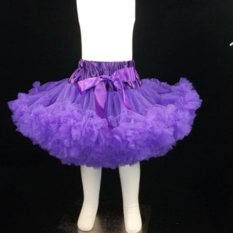 3-слойная шифоновая пачка Великолепный мягкий объемная юбка-пачка Pettiskirt Deluxe Многослойные детские юбки для маленьких девочек Детская poto реквизит