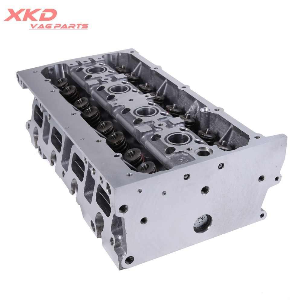 Engine Cylinder Head & Valves & Springs Assembly For VW Golf