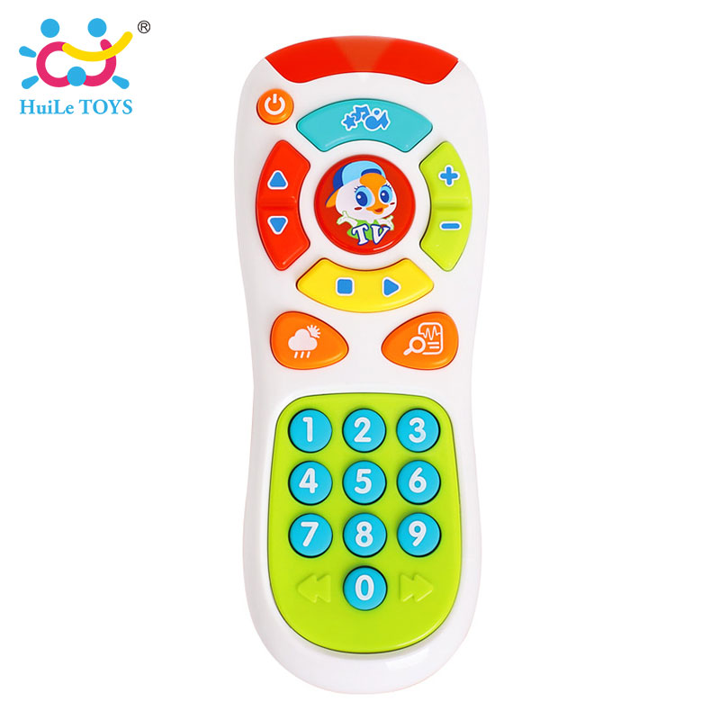 HUILE-TOYS-3113-Baby-Toys-Electric-Click-Count-Remote-with-Light-Music-Kids-Early-Learning-Educational-Toys-for-Toddler-Gift-3