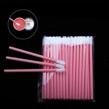 50pcs Disposable Lip Brush Gloss Wands Applicator Perfect Beauty Lipstick Cosmetic Makeup