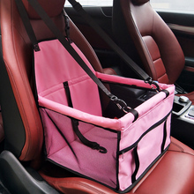 Dog Bag Basket Pet Products Fine joy Pet Dog Carrier Car-Carrying Car Seat Pad Safe Carry House Cat Puppy Bag Car Travel Basket