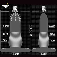 Reusable Anal Condoms For Men Penis Sleeve Gay Cock Condom Adult Sex Products Toys for