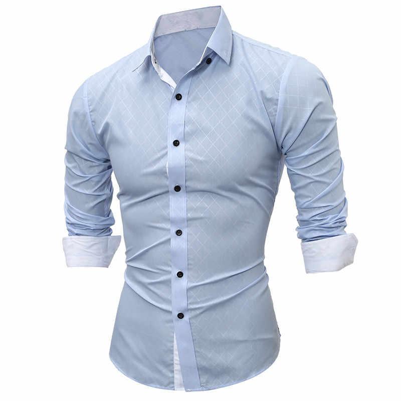 BOLUBAO Новая мужская Повседневная рубашка с длинными рукавами Мужская однотонная приталенная Модная рубашка-смокинг мужская Высококачественная рубашка
