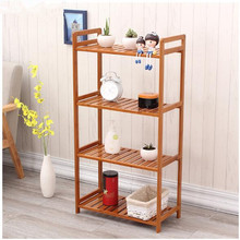 Creative layered shelf  Living room, kitchen, storage rack   for shelf  Environmental protection bamboo products