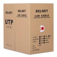 BELNET CAT5E RJ45 UTP Ethernet Cáp Mạng Cáp Lan Vá cáp 24AWG Rắn Đồng Đèo Fluke kiểm tra 305 M 1000Ft trắng