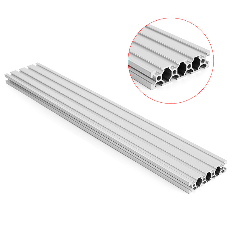 1000mm Length 2080 T-Slot Aluminum Profiles Extrusion Frame For CNC 3D Printer Plasma Laser Stand Furniture New 4040 length 300mm t slot aluminum profiles extrusion frame for cnc 3d printer lasers stands furniture durable
