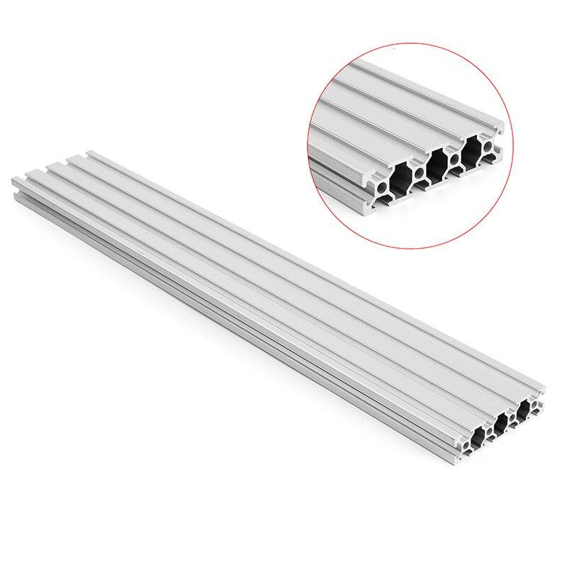 1000mm longueur 2080 t-slot profilés en aluminium cadre d'extrusion pour CNC 3D imprimante Plasma Laser Stand meubles nouveau