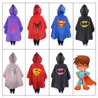 Kids Rain Coat Cartoon rain cost Children Cartoon Poncho Single-person Rainwear/Raincoat/Rainsuit Boys Girls Poncho