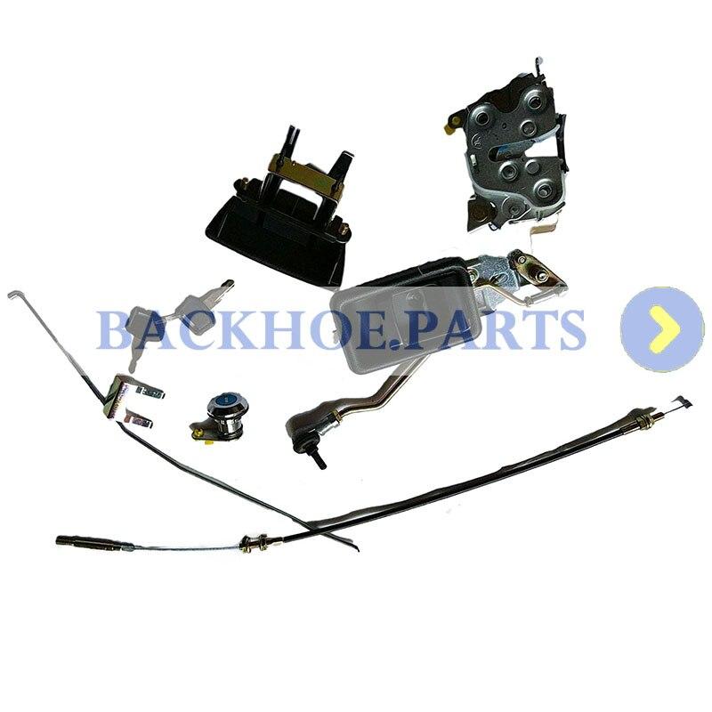 Door Lock Assembly 4362135 4369631 for Hitachi EX100-5 EX120-5 EX130H-5 EX200-5 EX220-5 EX300-5