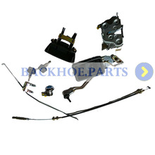 Door Lock Assembly 4362135 4369631 for Hitachi EX100-5 EX120-5 EX130H-5 EX200-5 EX220-5 EX300-5 haiba hb4921 5