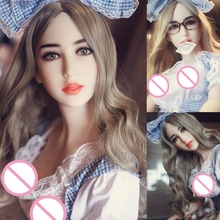 158cm Realistic Full Size Solid Silicone Sex Doll real Anal Oral Vagina Built-In Skeleton Pussy small Breast Love Dolls for men