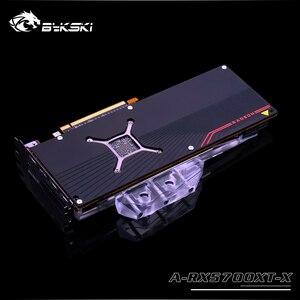 Image 2 - Bykski A RX5700XT X GPU Blocco di Raffreddamento Ad Acqua per Frontier AMD Radeon RX 5700XT/5700