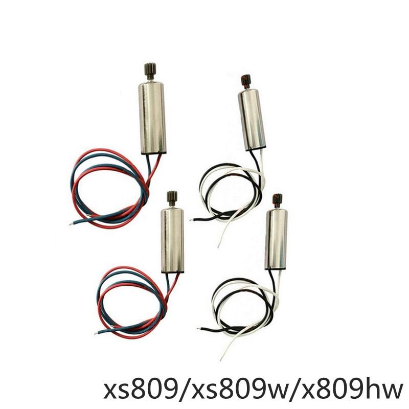 Visuo Xs809hw Xs809w Xs809 Motori Rc Drone Quadrocopter Ricambi 4 pz Dron Accessori Del Motore Kit