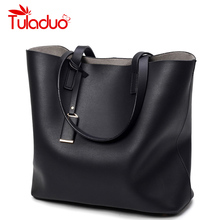 Women Brand Shoulder Bags Handbags Ladies Famous High Quality PU Leather Bag Casual Tote Bags Zipper