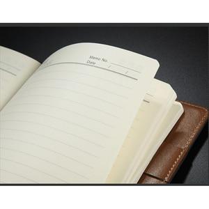 Image 3 - RuiZe مكتب الجلود دفتر B5 اليومية مخطط جدول الأعمال 2020 دفتر ملاحظات بغلاف مقوى A5 خمر الأعمال دفتر المفكرة غطاء