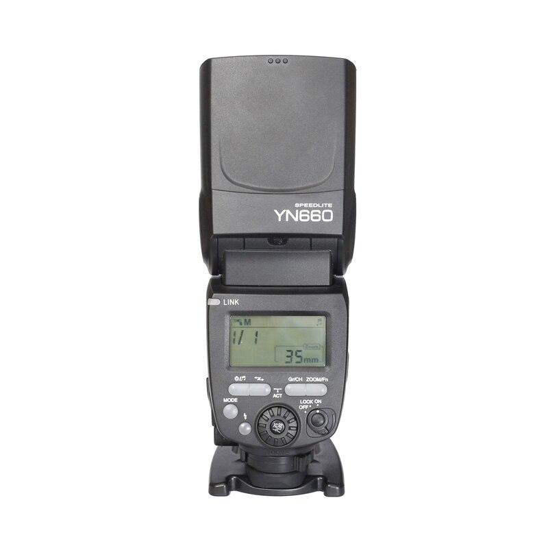 2016 YONGNUO YN660 GN66 2.4G Sans Fil HSS 1/8000 s Maître Flash Speedlite pour Canon 80D 70D 5D mark III pour Nikon Caméra