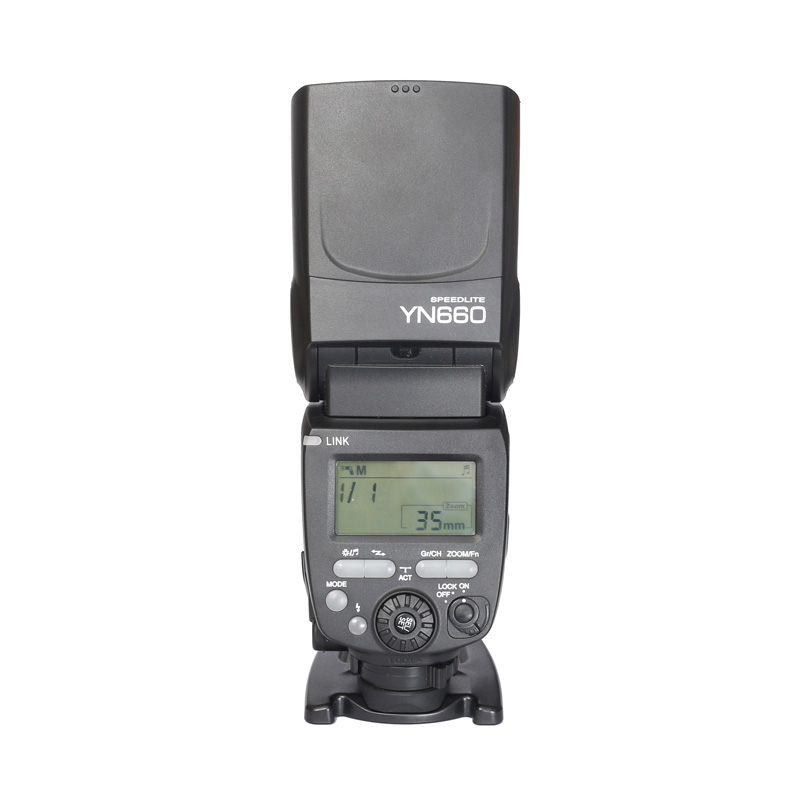 2016 YONGNUO YN660 GN66 2.4G Wireless HSS 1/8000s Master Flash Speedlite for Canon 80D 70D 5D Mark III for Nikon Camera yongnuo 3x yn 600ex rt ii 2 4g wireless hss 1 8000s master flash speedlite yn e3 rt flash trigger for canon eos camera 5d 6d