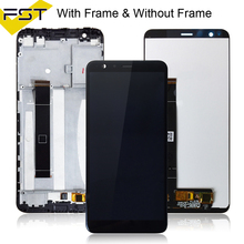 For Asus Zenfone Max Plus M1 LCD Display Touch Screen Digitizer Assembly With Frame X018D X018DC For ASUS ZB570TL LCD Pantalla