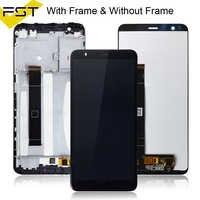 Para Asus Zenfone Max Plus M1 LCD pantalla táctil digitalizador montaje con marco X018D X018DC para ASUS ZB570TL LCD pantalla