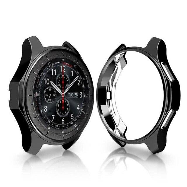 ТПУ устойчивый к царапинам гибкий мягкий чехол тонкий легкий защитный бампер чехол для мм samsung gear S3/Galaxy Watch 46 мм