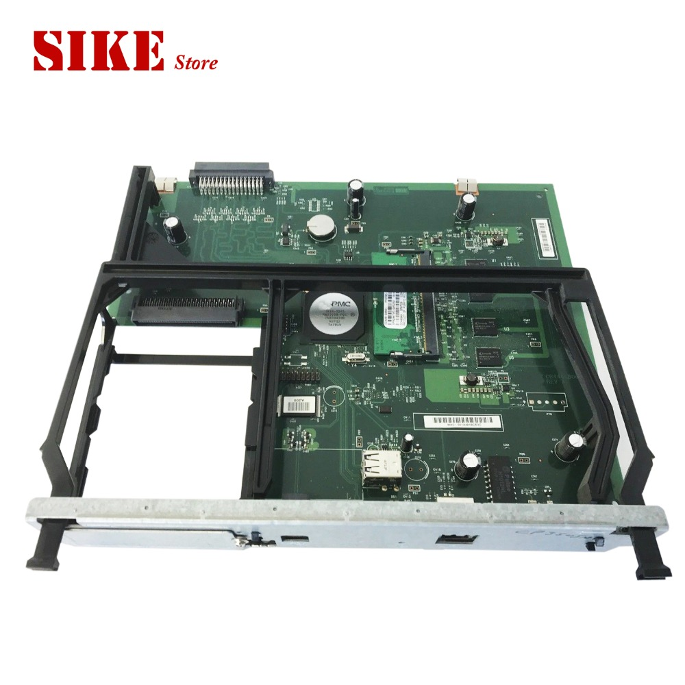 CB446-60001 Logic Main Board Use For HP CP3505 CP3505n CP3505dn 3505 3505n Formatter Board Mainboard formatter pca assy formatter board logic main board mainboard mother board for hp m775 m775dn m775f m775z m775z ce396 60001