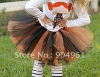 Holiday Sale Girls Halloween Petti Tutus Baby Halloween Tutu MOQ 1 Pc