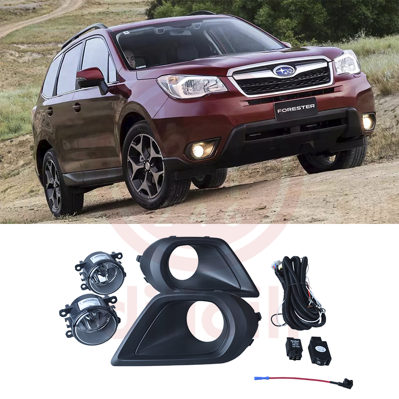 цена на OEM fog lights lamp kit for SUBARU FORESTER S13 2013 2014 2015 2016 SAE
