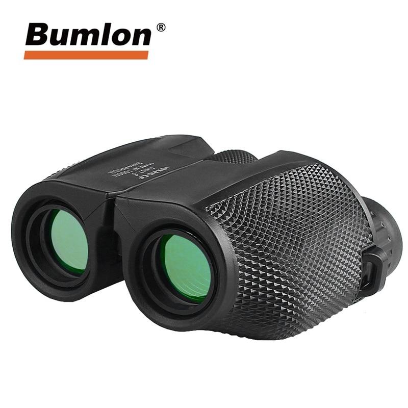10X25 Binoculaire HD Tout-optique Film Vert Télescope Étanche pour Sports de Plein Air Chasse Camping Alpinisme Randonnée 38 -0014