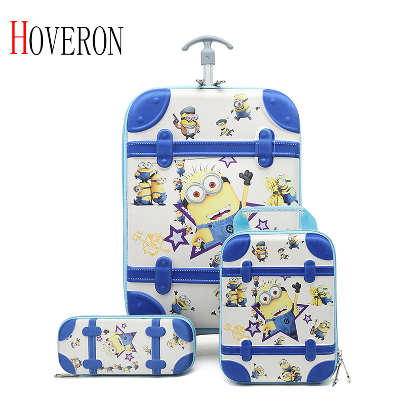 Cartoon Kid's Travel Trolley Bag Sac Enfant Suitcase For Kids Children Rolling Case Travel Traveling Luggage Bags With Wheels