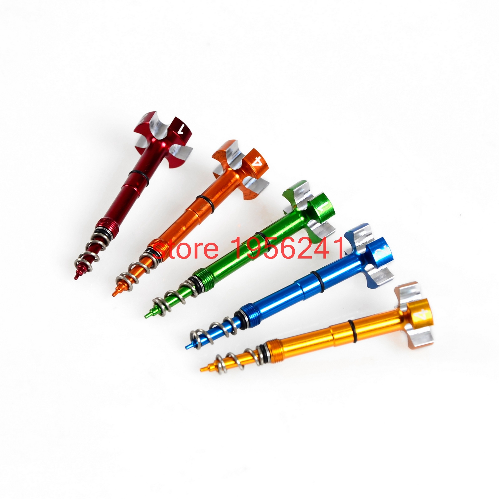 Air Fuel Mixture Screw Adjuster For Honda CRF150R CRF250R CRF250X CRF450R CRF450X TRX450R CRF 150R 250R 250X 450R 450X red cnc pivot brake clutch levers for honda crf 250r 450r crf250r crf450r 2004 2006 crf 250x 450x crf250x crf450x 2005 2016
