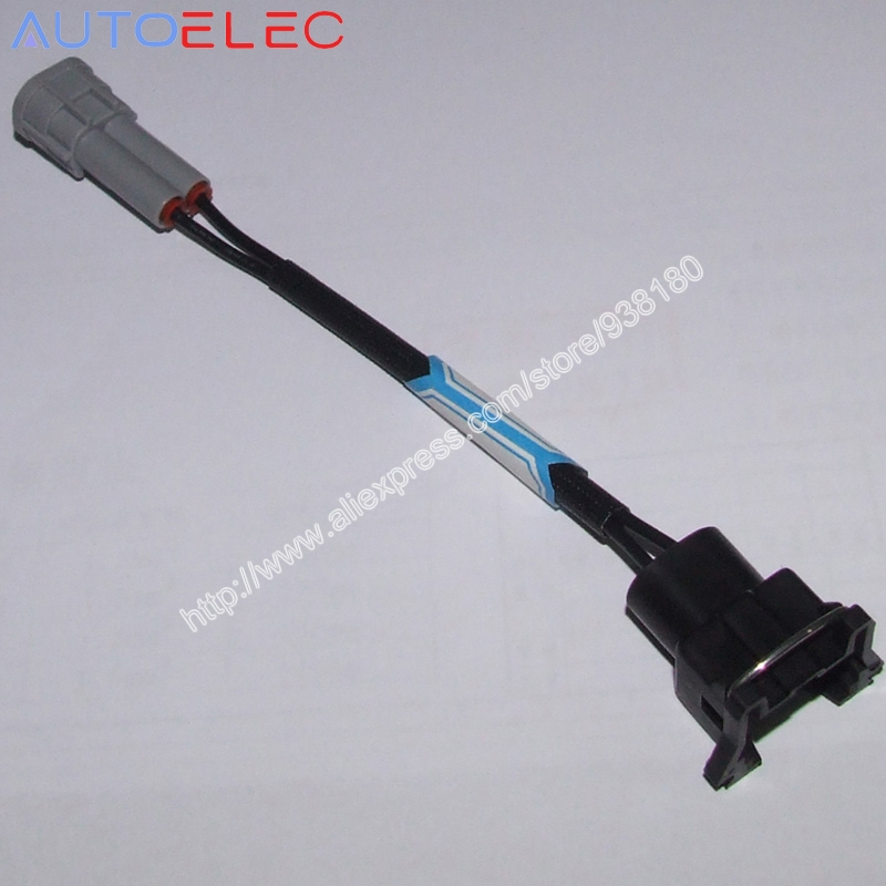 popular waterproof wiring harness buy cheap waterproof wiring ev1 to nippon denso plug and play fuel injector adapters connectors plugs clips waterproof wire harness