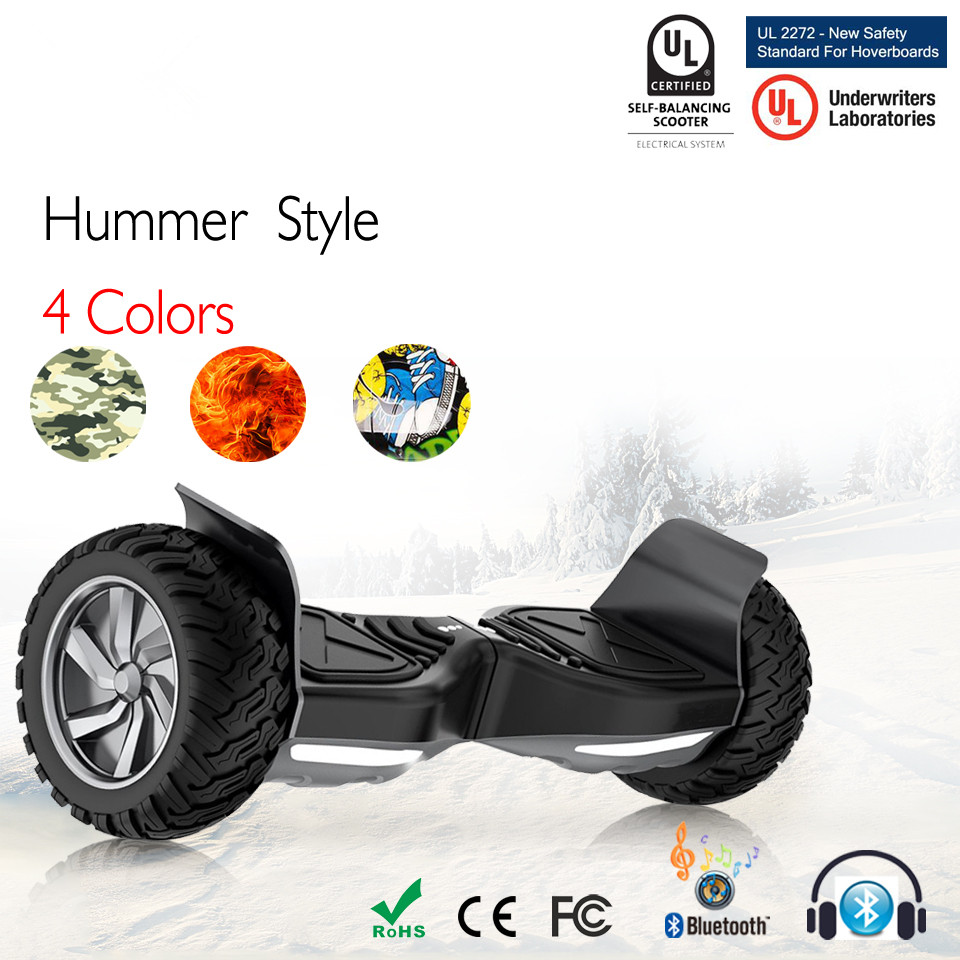 All Terrain Hoverboard 8.5 Inch Electric Scooter Electrico Balance <font><b>Board</b></font> Hooverboard <font><b>Hower</b></font> <font><b>Board</b></font> Overboard Oxboard E Scooter image