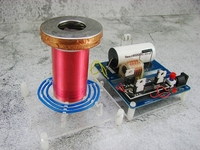 Electronic diy Mini spark Gap Tesla Coil SGTC diy kit