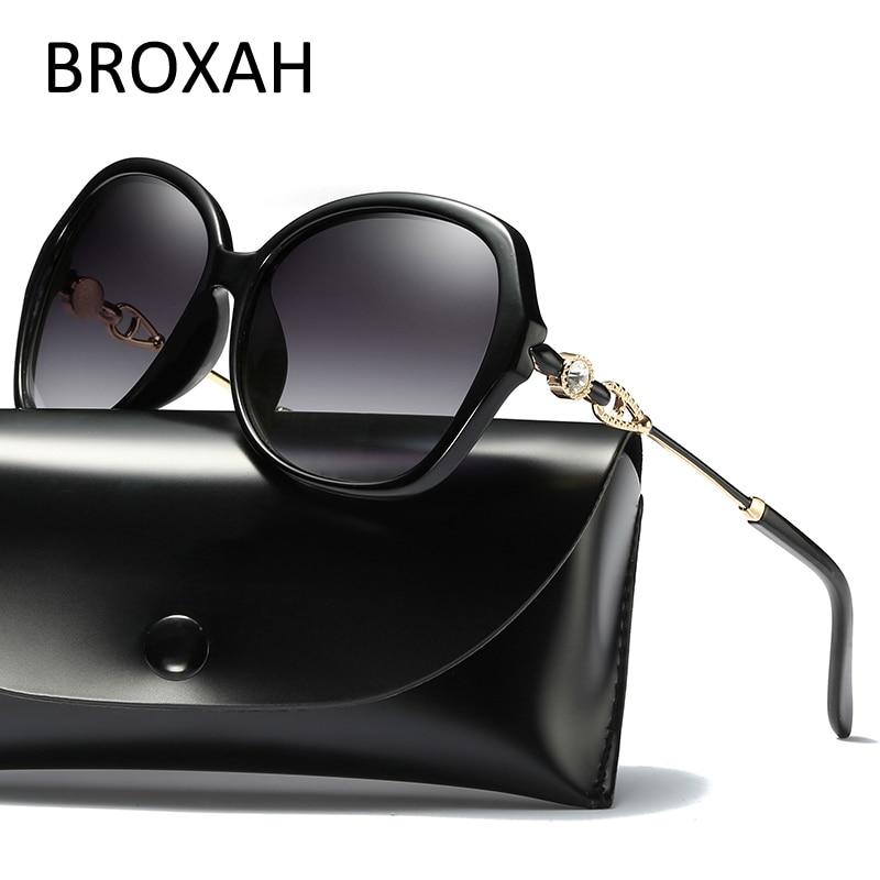 Fashion Polarized Sunglasses Women Luxury Brand Designer Driving Glasses Oval Lens Ladies Shades UV400 Women's Sunglasses