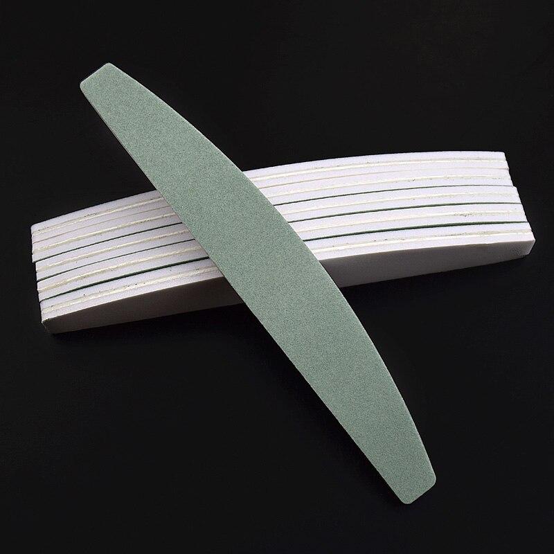 10Pcs/lot Nail File Sponge Diamond Nail Buffer File Smooth Buff Shiner Sanding File Manicure  Shining Buffing Tools 600/4000