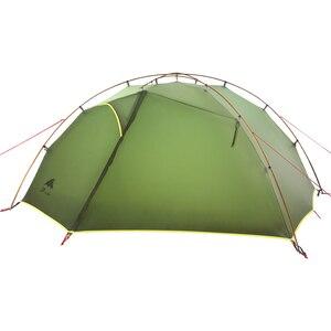 Image 5 - 3F UL dişli Tai Chi 2 Ultralight 2 kişi çadır 3 4 sezon kamp çadırı 15D naylon kumaş çift katmanlı su geçirmez çadır