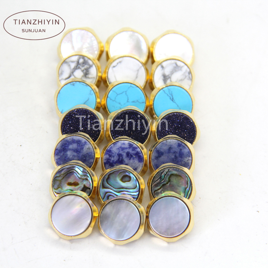 Trumpet Repair Parts  Finger Button  Trumpet Finger Key Buttons For Repairing Parts New 7 Colors Stone  Shell
