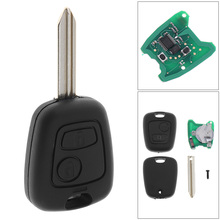 433MHz 2 Buttons Keyless Uncut Flip Remote Key Fob with ID46 Chip for Citroen Saxo Picasso Xsara Berlingo SX9 D25 hot