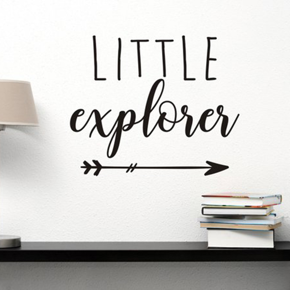 Aliexpress.com : Buy Little Explorer Decal Travel Wall