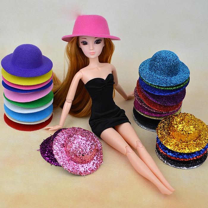 15 Kinds Doll Hat Headwear Equipment For 1/6 Barbie Kurhn Doll Reward New 2016 Toys for Ladies