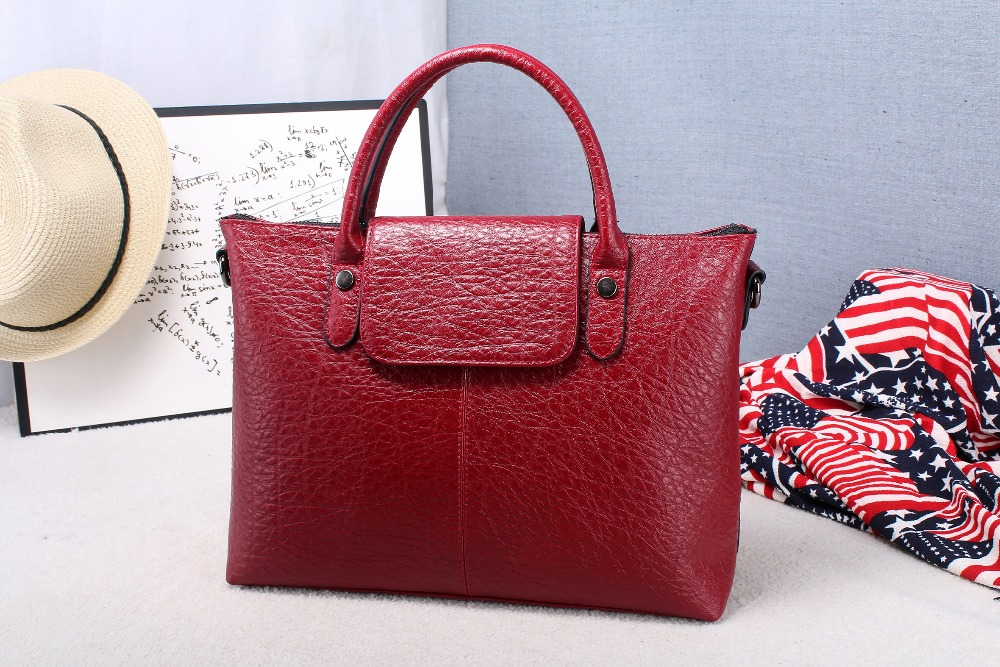 ФОТО 2016  Fashional  Women Handbag Messenger Bag  Genuine Cowhide Leather Top Quality  In Low Price several days 7 colors
