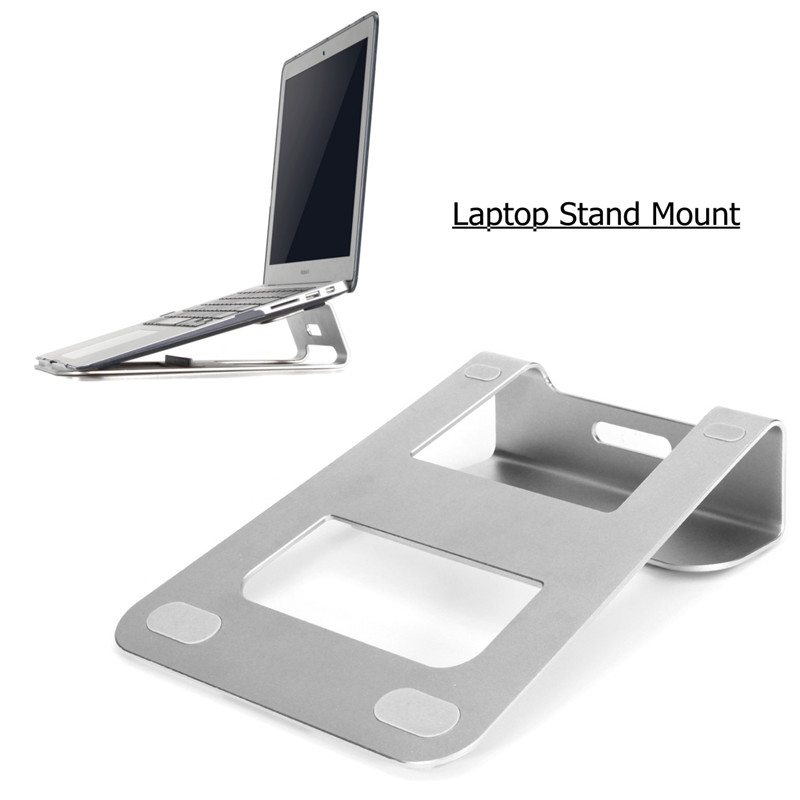 Universal For 11-15 Inch Laptop For MacBook Pro Air Notebook Portable Metal Laptop Cooling Pad Cooler Aluminum Stand