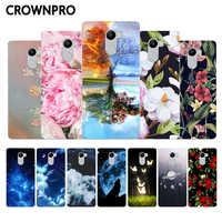 CROWNPRO carcasa para xiaomi Redmi 4 de silicona para Redmi 4 TPU funda trasera para Xiaomi Redmi4 16GB cubiertas blandas Protector de teléfono