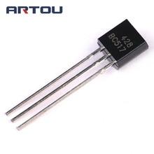 цена на 10PCS BC517 NPN Transistor TO-92